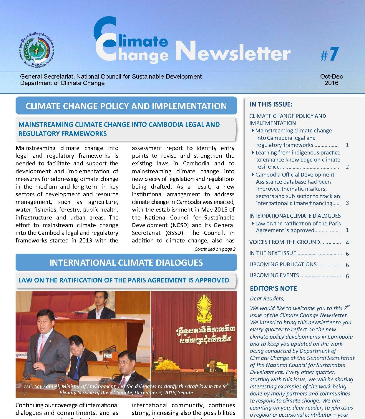 Newsletter No.7 En Page 1 1