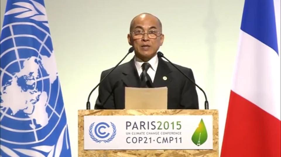 King statement in CoP21